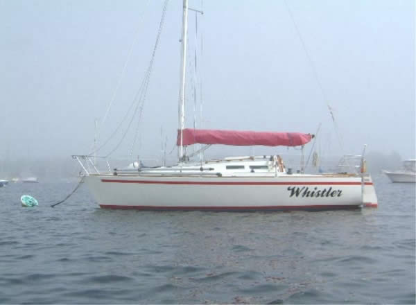 1979 J/30 – Whistler Hull #5 – located in Marblehead