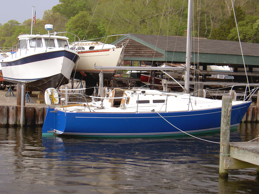 SOLD:1979 J/30 – Hull ID# 219 TSP3021911179 – located in Noank, CT The boat ...